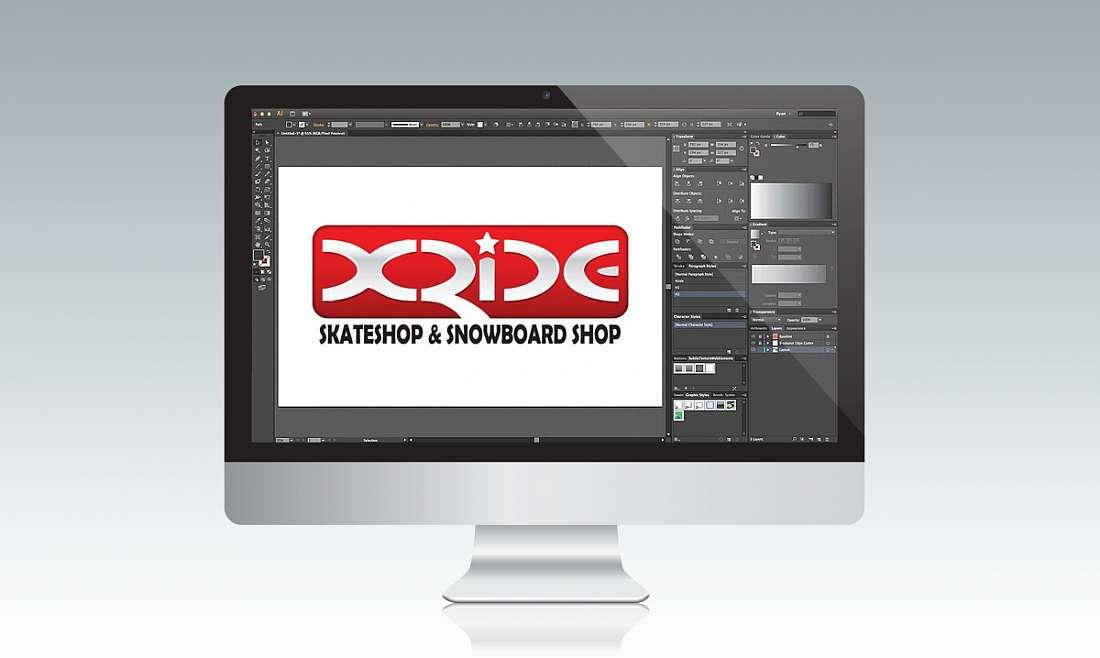 Logo - XRIDE.CZ
