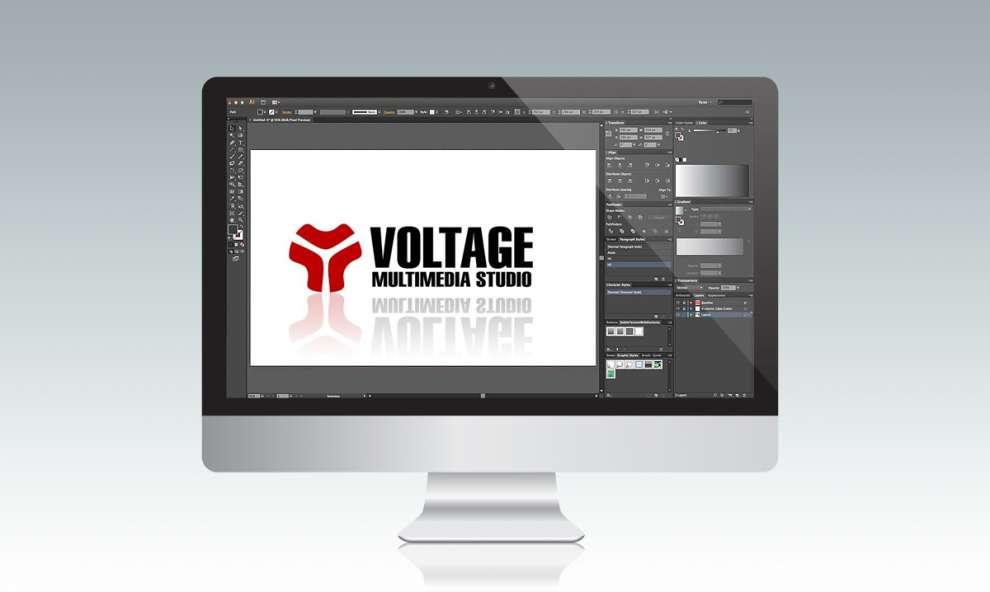 Logo Voltage