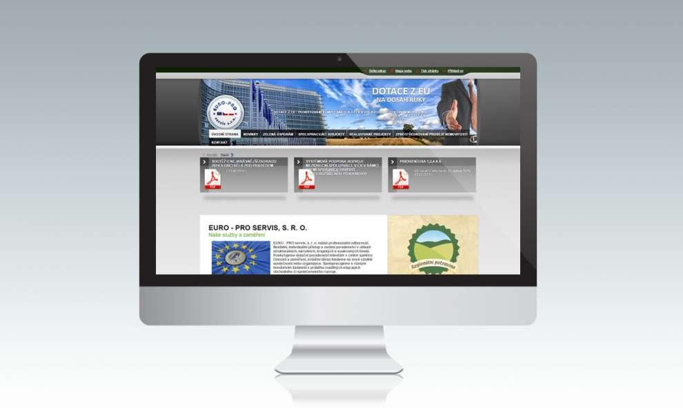 WWW stránky Euro-proservis.eu
